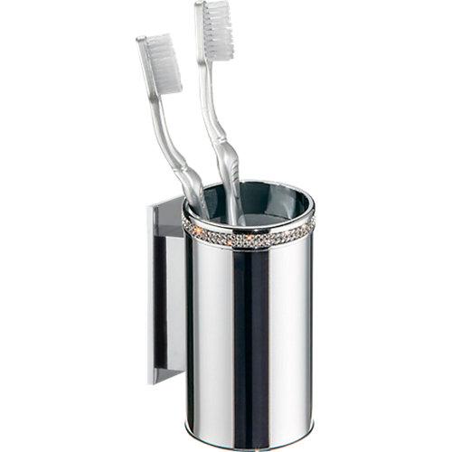 Potacepillos baño carmen gris / plata