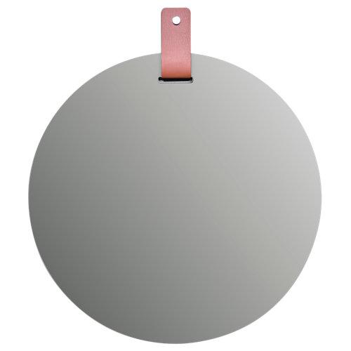 Espejo de baño forte marrón 60 x 60 cm