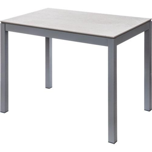 Mesa extensible de dekton betty de 110 a 180 cm beige
