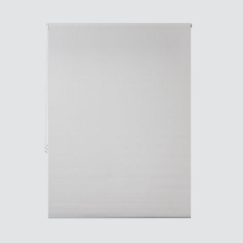 Estor enrollable translúcido ribbed blanco de 124x250cm