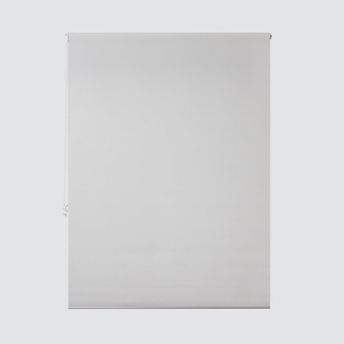 Estor enrollable translúcido ribbed blanco de 169x250cm