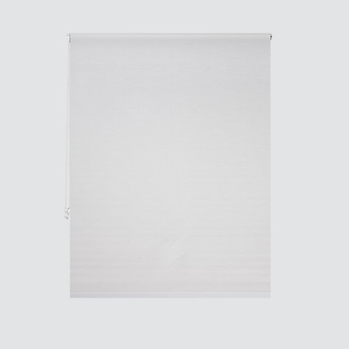 Estor enrollable translúcido petra blanco de 94x250cm