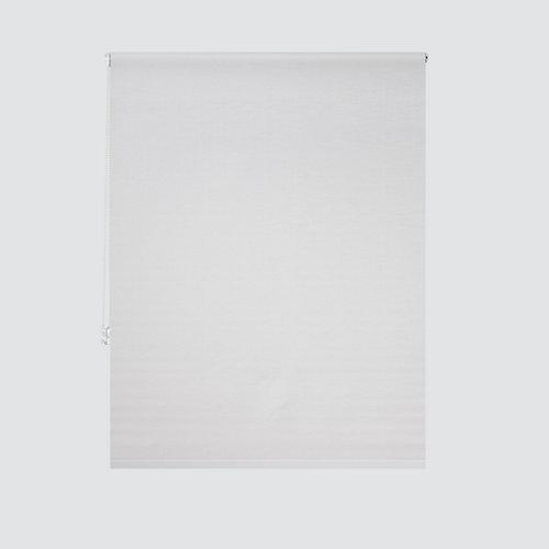 Estor enrollable translúcido petra blanco de 109x250cm