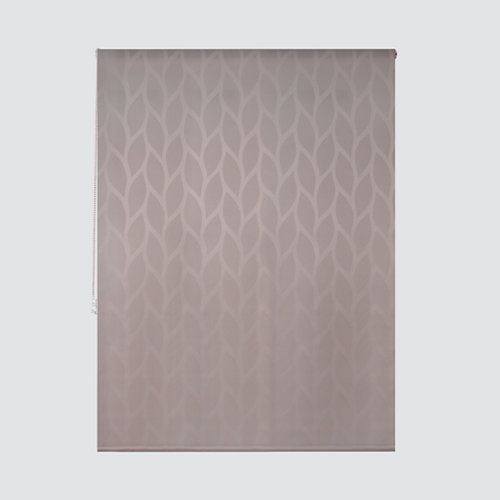 Estor enrollable maya lino marrón de 94x250cm