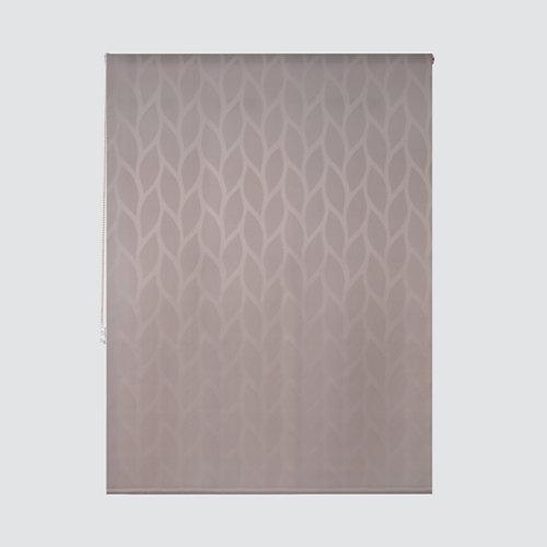Estor enrollable maya lino marrón de 124x250cm