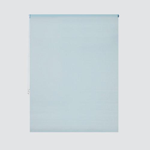 Estor enrollable translúcido essenza azul de 154x250cm