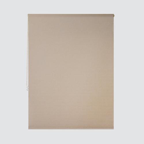 Estor enrollable translúcido essenza beige de 109x250cm