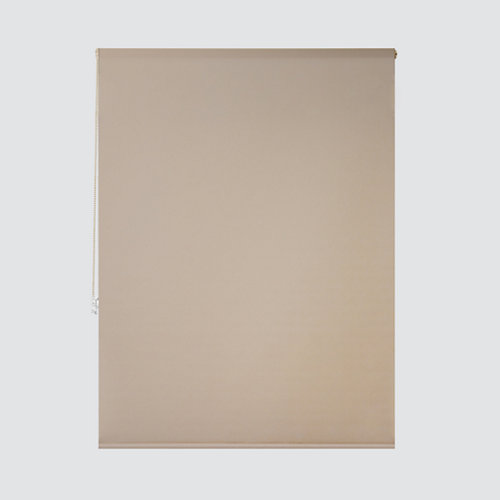 Estor enrollable translúcido essenza beige de 124x250cm