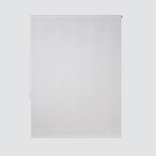 Estor enrollable screen ramas blanco de 184x250cm