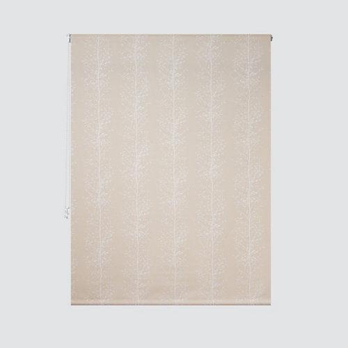 Estor enrollable screen ramas beige de 124x250cm