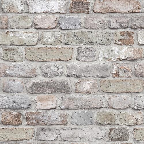 Papel pintado piedra gris 5,3 m²