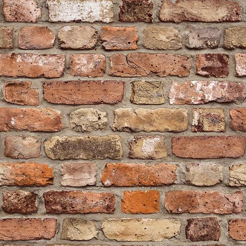 Papel pintado piedra marrón 5,3 m²