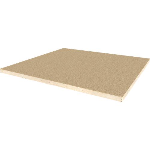 Placa suelo madera 120x485 cm