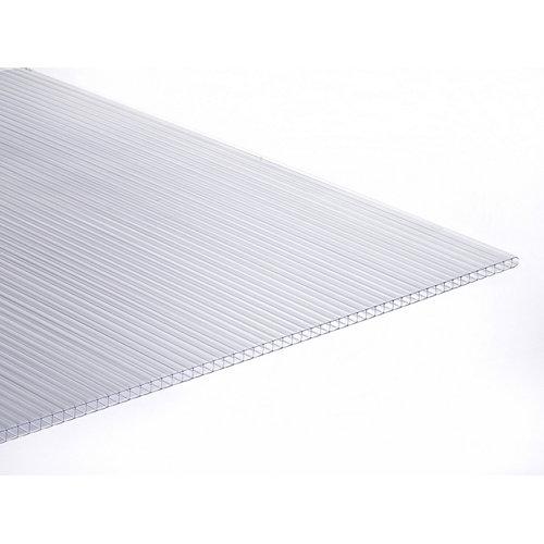 Placa de policarbonato celular 3000x980x10 mm