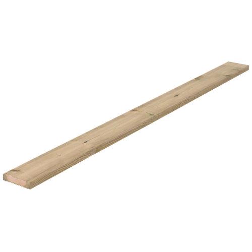 Lama de suelo de exterior de madera de 210x14.5 cm y 32 mm