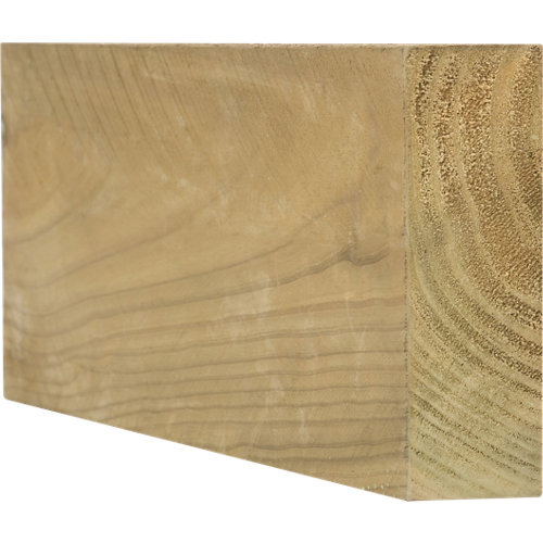 Traviesa de madera para exterior 6x18x122 cm