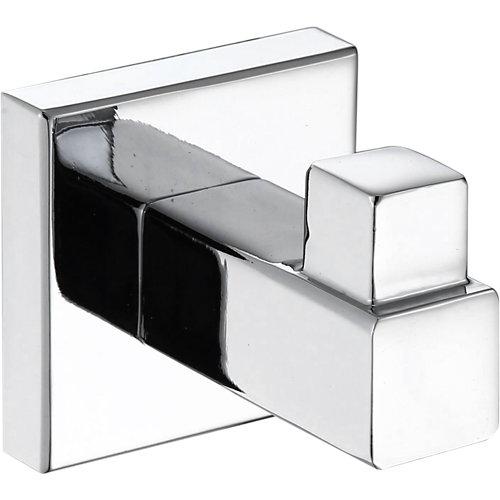 Percha de baño quaddro cromo