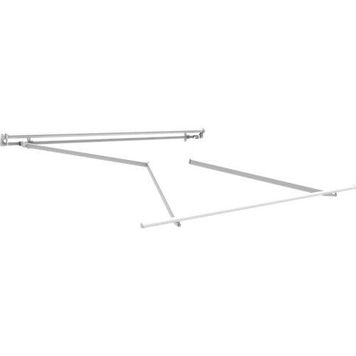 Estructura toldo manual para terraza sin cofre de 2,5x200 cm