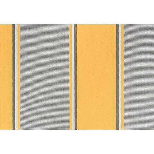 Tela para toldo kronos essencial rayas amarillo 3,5x2,5 m
