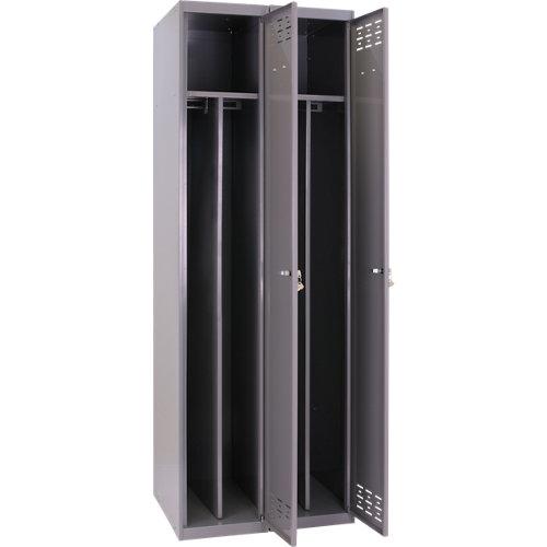 Taquilla montada divisor 2 columnas 2 puertas 500
