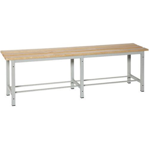 Simonlocker mon. wood bench 1500 de 150x47.5x32 cm