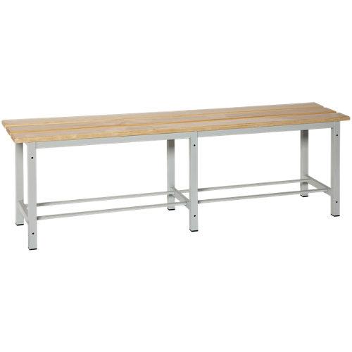 Simonlocker mon. wood bench 2000 de 200x47.5x32 cm