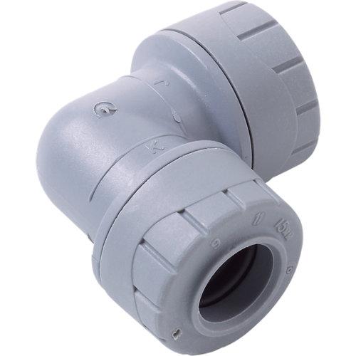 Codo polibutileno ø15mm