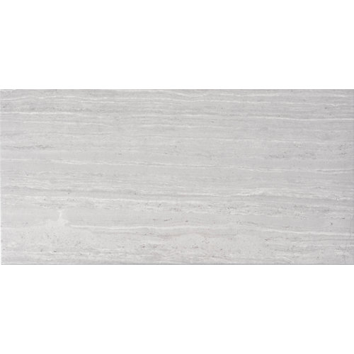 Baldosa de 63.7x63.7 cm en color gris / plata