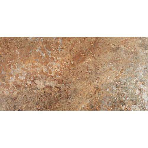 Pavimento porcelánico arizona 49.1x98.2 tonos cobre