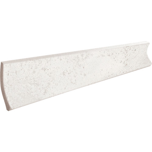 Cenefa 1/2 caña litos ártico 33x4 cm