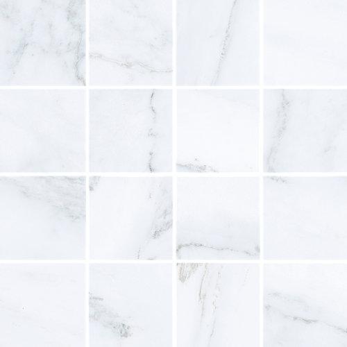 Mosaico velvet 30x30 blanco c1