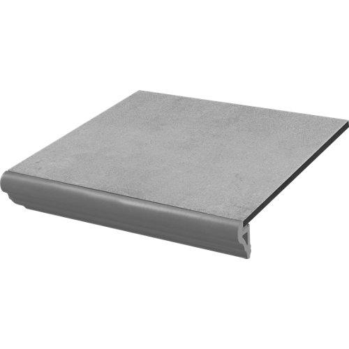 Peldaño velez 33,3x33,3 cm curvo-gris c3 artens