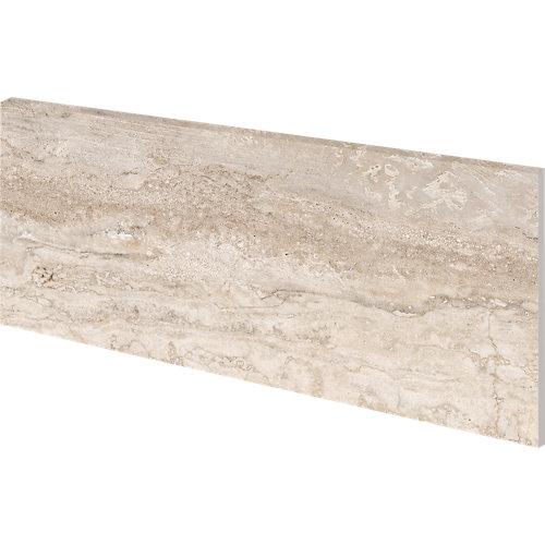 Zanquin derecho recto 18x40 marbles travertino