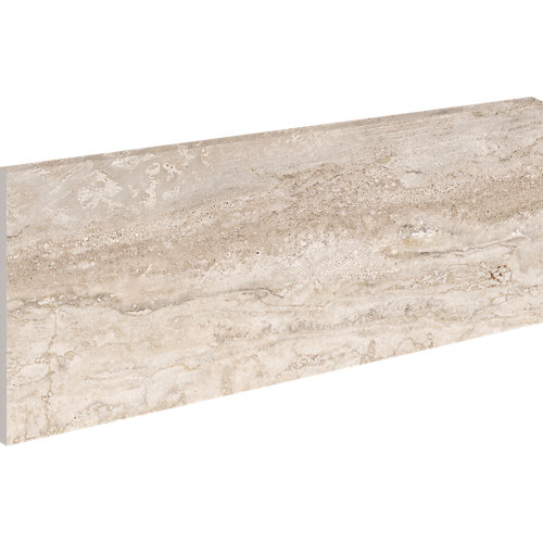 Zanquin izquierdo recto 18x40 marbles travertino