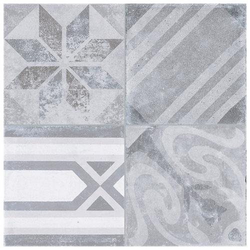 Pavimento porcelánico artisan 33.15x33.15 gris c1 artens