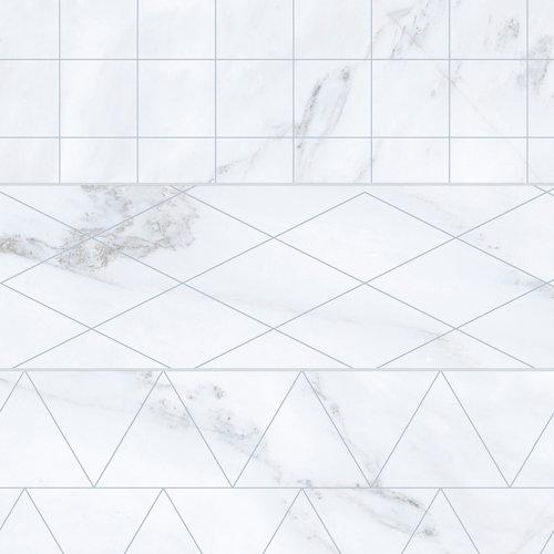 Pavimento porcelánico velvet 33.15x33.15 brick-geo-blanco c1