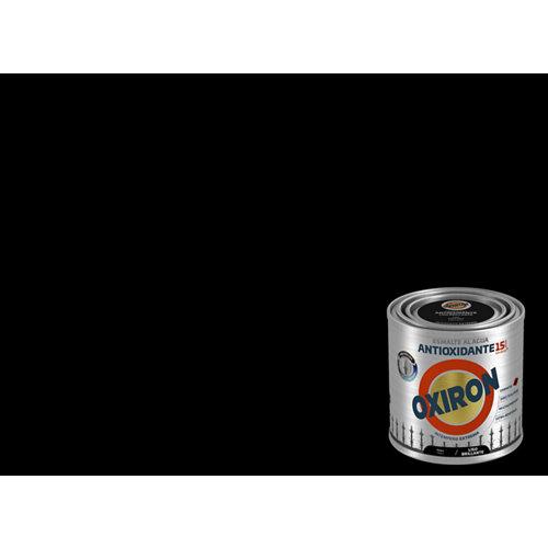 Pintura oxiron liso agua brillo 250ml negro