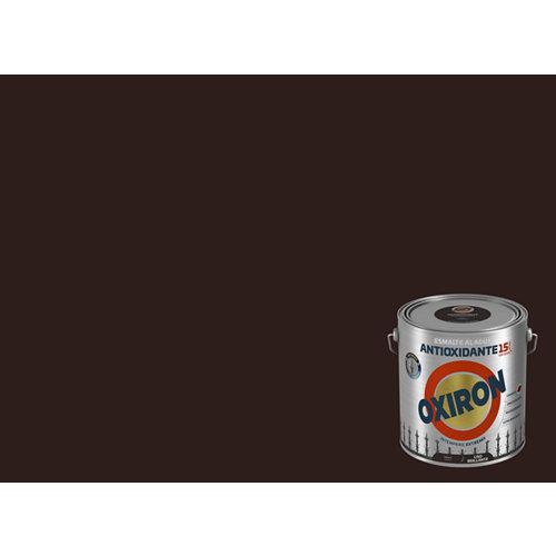 Pintura oxiron liso agua brillo 2,5l tabaco