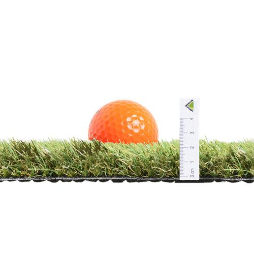 Rollo de césped artificial leo 2x5 m y 25 mm de altura de fibras