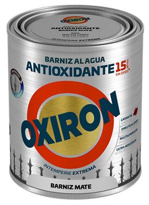 Barniz multiadherente antioxidante con acabado mate Oxiron de 0.75L