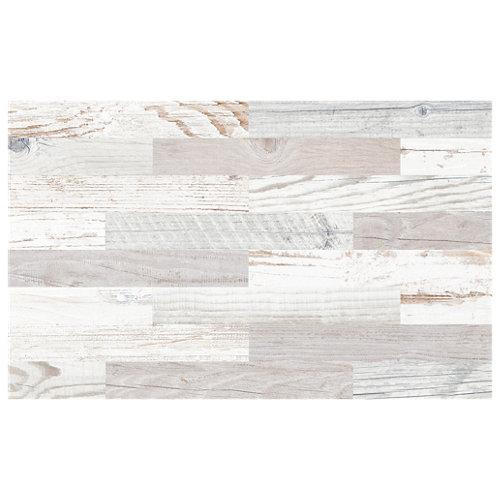 Pavimento / revestimiento porcelánico foresta 40.8x66.2 blanco c1 artens