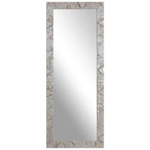 Espejo rectangular petra plata plata 153 x 53 cm