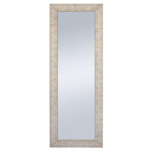 Espejo rectangular tarraco champagne bronce 140 x 40 cm