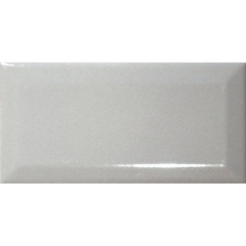 Revestimiento biselado 7,5x15 gris