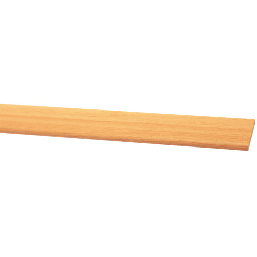 Bizcocho de mdf melamina haya 38x5 mm x 2,43 m (ancho x grueso x largo)