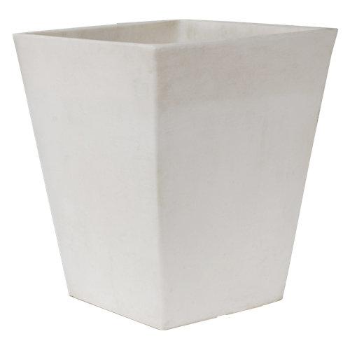 Maceta camomila de 40 cm blanco