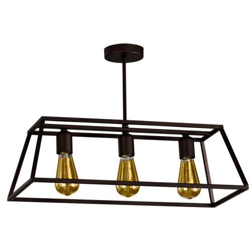 Lámpara pl-brimo/3 marrón