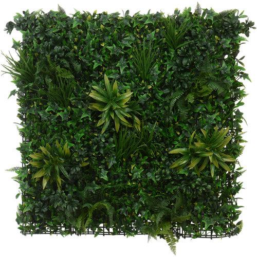 Jardín vertical artificial tropical tenax 100x100 cm