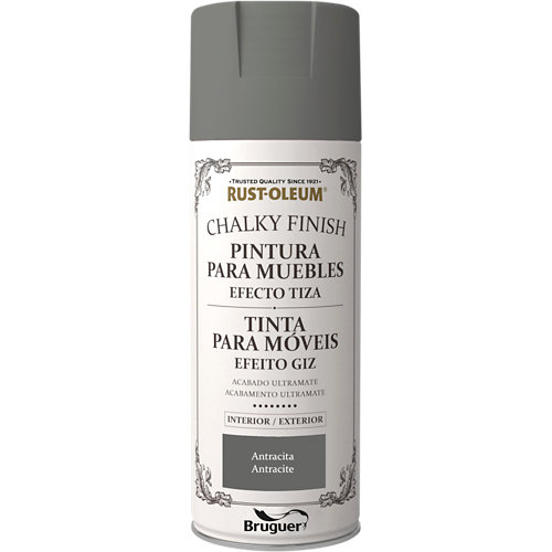 Pintura chalky xylazel spray antracita 400 ml