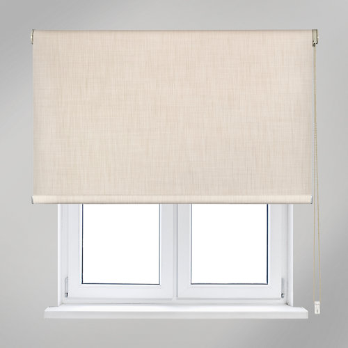 Estor enrollable opaco moon beige de 105x250cm